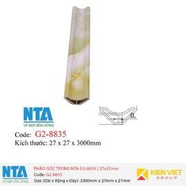 Phào góc trong NTA G2-8835 | 27x27mm