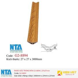 Phào góc trong NTA G2-8894 | 27x27mm