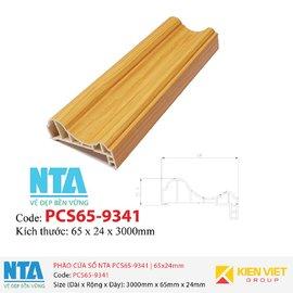 Phào cửa sổ NTA PCS65-9341   65x24mm
