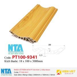 Phào cổ trần NTA PT100-9341   100x18mm