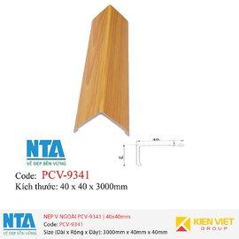 Nẹp V ngoài NTA PCV-9341 | 40x40mm