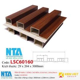 Tấm ốp nan 3 sóng cao NTA LSC60160   204x29mm