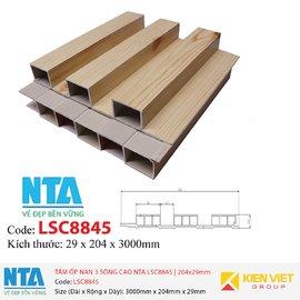 Tấm ốp nan 3 sóng cao NTA LSC8845 | 204x29mm