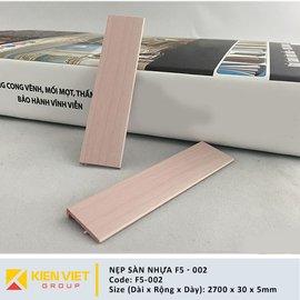 Nẹp sàn nhựa F5-002