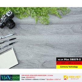 Sàn nhựa hèm khóa MaxFloor 58079-2 | 5.5mm