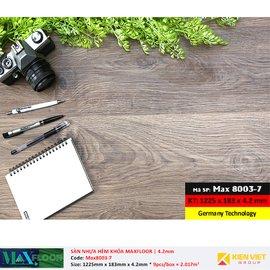 Sàn nhựa hèm khóa MaxFloor 8003-7 | 4.2mm