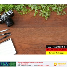Sàn nhựa hèm khóa MaxFloor 8010-4 | 4.2mm