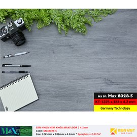 Sàn nhựa hèm khóa MaxFloor 8028-5 | 4.2mm