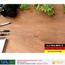Sàn nhựa hèm khóa MaxFloor 8031-7 | 4.2mm