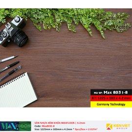 Sàn nhựa hèm khóa MaxFloor 8031-8 | 4.2mm
