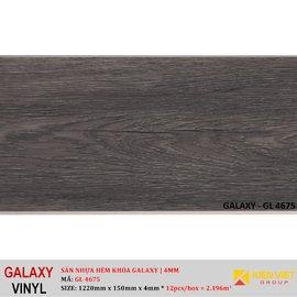 Sàn nhựa hèm khóa Galaxy GL4675   4mm