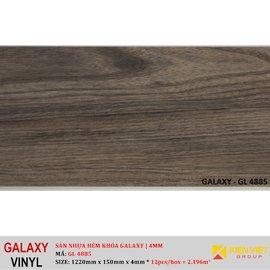 Sàn nhựa hèm khóa Galaxy GL4885   4mm