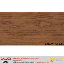 Sàn nhựa hèm khóa Galaxy GL4886 | 4mm