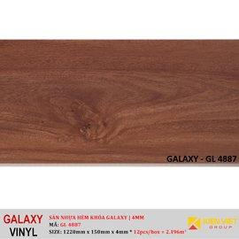 Sàn nhựa hèm khóa Galaxy GL4887   4mm