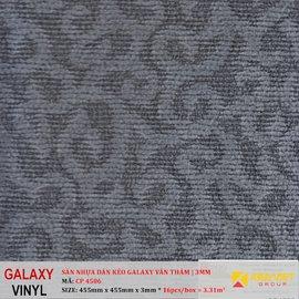 Sàn nhựa dán keo Galaxy vân thảm CP 4506 | 3mm