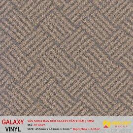 Sàn nhựa dán keo Galaxy vân thảm CP 4507 | 3mm
