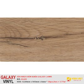 Sàn nhựa hèm khóa Galaxy GL602   6mm