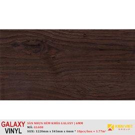 Sàn nhựa hèm khóa Galaxy GL608 | 6mm