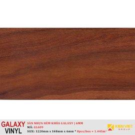 Sàn nhựa hèm khóa Galaxy GL609 | 6mm