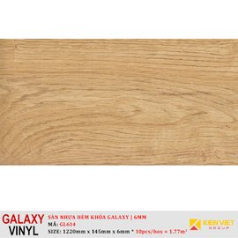 Sàn nhựa hèm khóa Galaxy GL614 | 6mm
