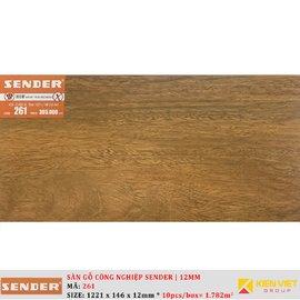 Sàn gỗ công nghiệp Sender 261 | 12mm