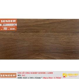 Sàn gỗ công nghiệp Sender 263 | 12mm