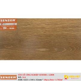 Sàn gỗ công nghiệp Sender 264 | 12mm