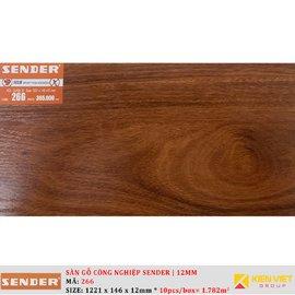 Sàn gỗ công nghiệp Sender 266 | 12mm