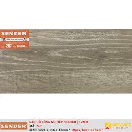 Sàn gỗ công nghiệp Sender 267 | 12mm
