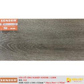 Sàn gỗ công nghiệp Sender 268 | 12mm