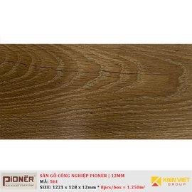 Sàn gỗ công nghiệp Pioner Titanium 561 | 12mm