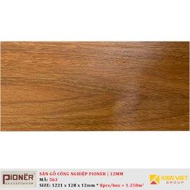 Sàn gỗ công nghiệp Pioner Titanium 563   12mm