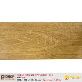 Sàn gỗ công nghiệp Pioner Titanium 564   12mm