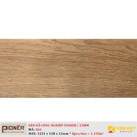 Sàn gỗ công nghiệp Pioner Titanium 566 | 12mm