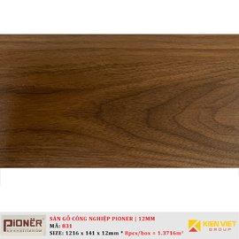Sàn gỗ công nghiệp Pioner Titanium 831 | 12mm