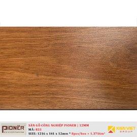 Sàn gỗ công nghiệp Pioner Titanium 833   12mm