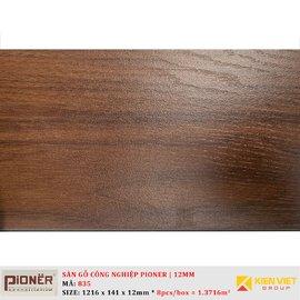 Sàn gỗ công nghiệp Pioner Titanium 835 | 12mm
