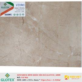 Sàn nhựa hèm khóa vân đá GLOTEX VD901 | 4mm