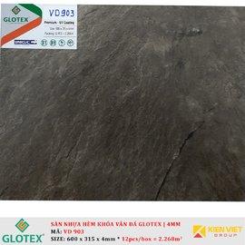 Sàn nhựa hèm khóa vân đá GLOTEX VD903 | 4mm