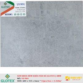 Sàn nhựa hèm khóa vân đá GLOTEX VD904 | 4mm