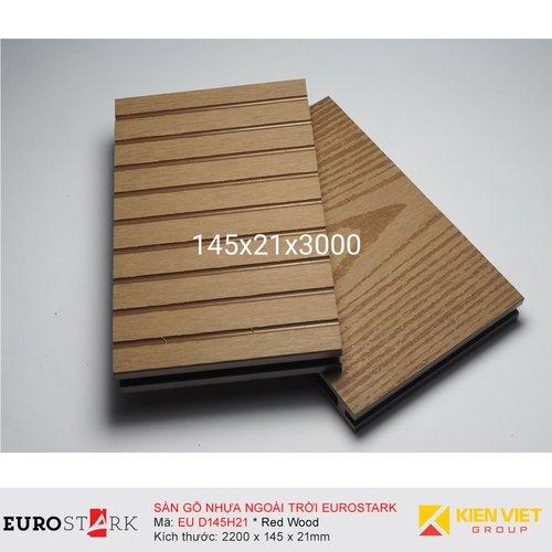 Sàn gỗ ngoài trời EuroStark EU-D145H21 Vàng Gỗ