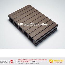 Sàn gỗ ngoài trời EuroStark EU-D140H25 Coffee