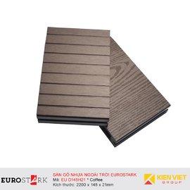 Sàn gỗ ngoài trời EuroStark EU-D145H21 Coffee
