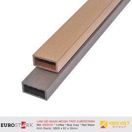 Sàn gỗ ngoài trời hệ lam gỗ nhựa EuroStark EU-S60H30