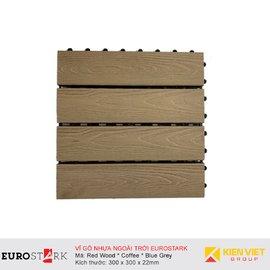 Sàn gỗ ngoài trời vỉ gỗ nhựa EuroStark