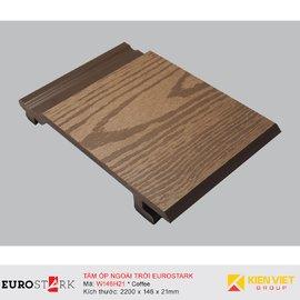 Sàn gỗ ngoài trời ốp tường ngoại thất EuroStark EU-W146H21 Coffee