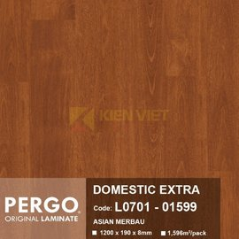 Sàn gỗ Pergo Domestic Extra 01599 | 8mm