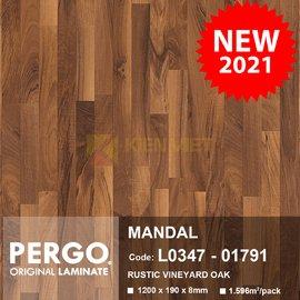 Sàn gỗ Pergo Mandal 01791 | 8mm