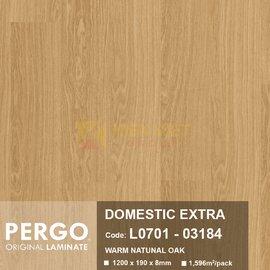 Sàn gỗ Pergo Domestic Extra 03184 | 8mm