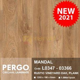 Sàn gỗ Pergo Mandal 03366 | 8mm